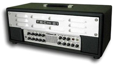 TECH 21 Trademark 300 Guitar Amp Head with footswitch
