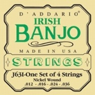 D'Addario Irish 4-String Banjo Strings J631