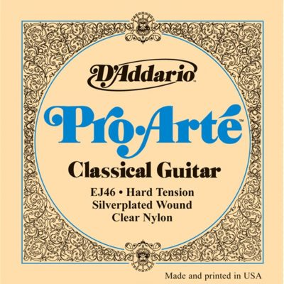 D'Addario Pro-Arte Nylon Classical Guitar Strings EJ46 Hard