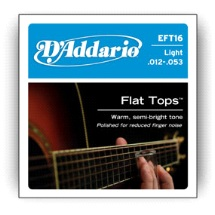 D'Addario Acoustic Guitar Strings EFT16