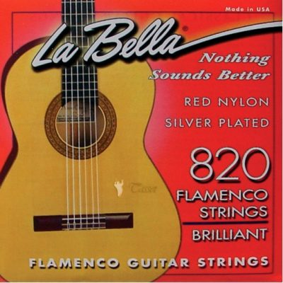 La Bella Flamenco Guitar Strings 820
