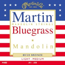 Martin Bluegrass Mandolin Strings M450