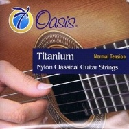 Oasis Titanium Nylon Classical Guitar Strings