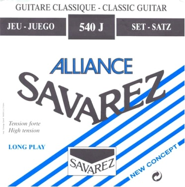 Savarez Alliance Nylon Guitar Strings 540 J