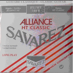 Savarez Alliance Nylon Guitar Strings 540 R