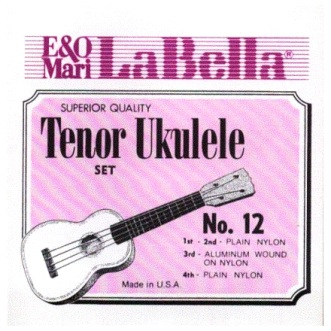 LaBella Tenor Ukulele Strings No.12